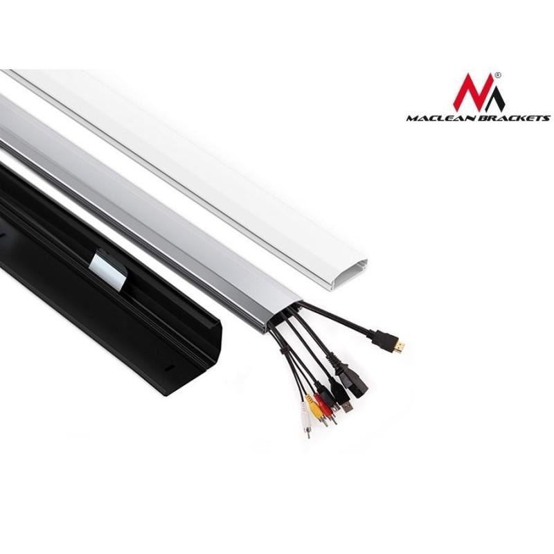 Maclean cable cover Home Cinema 60x20x750mm, white (MC-693W ...
