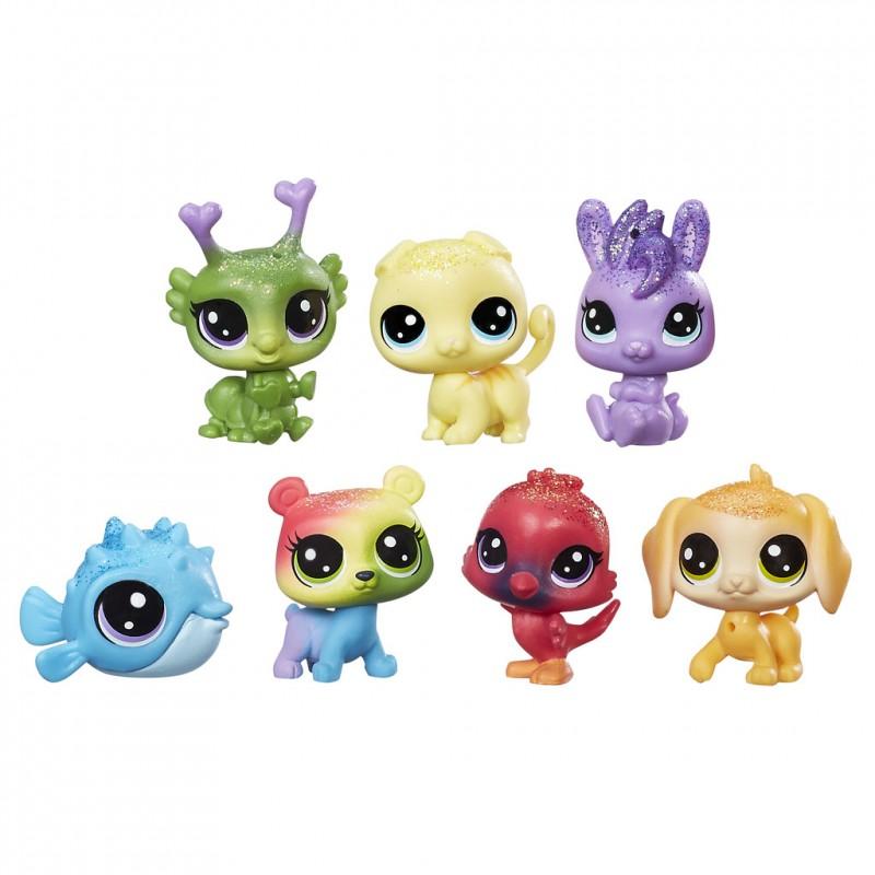 Hasbro Littlest Pet Shop Vikerkaare Multipakk C0805 Toy