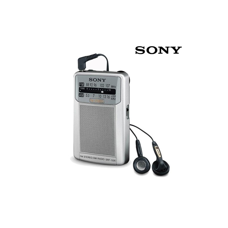 Карманное Радио Sony SRFS26