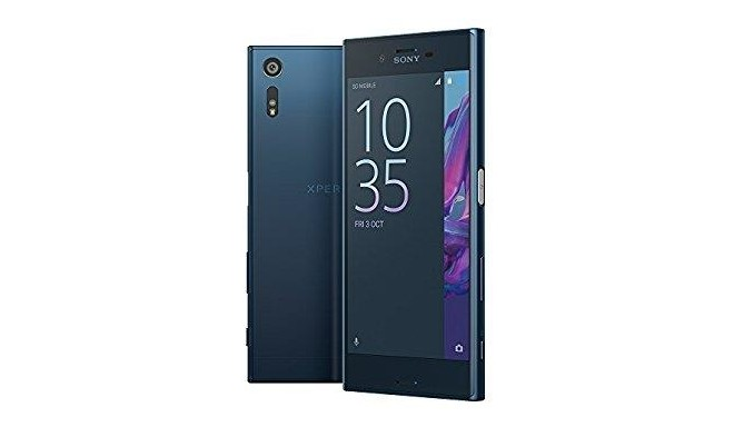 smartphone sony xperia xz 32 gb blue wifi 3g lte screen 5 2 1080 x 1920 ram. Black Bedroom Furniture Sets. Home Design Ideas