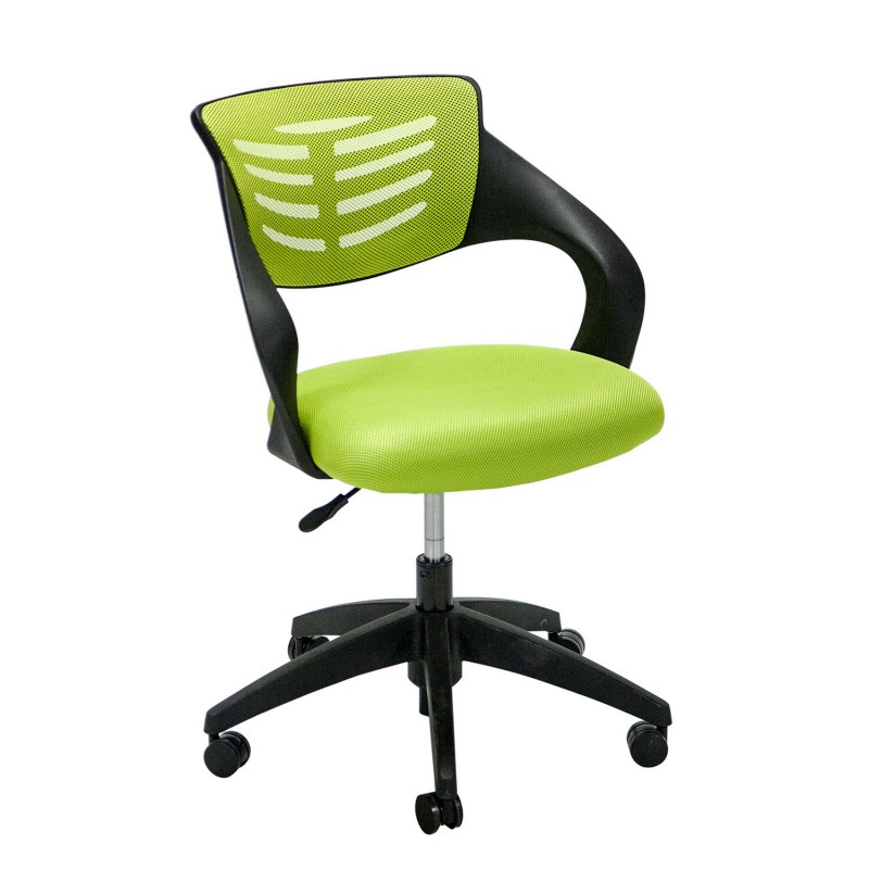 Task Chair TORO 59x76xH88cm, Seat And Back Rest: Mesh Fabric, Color: Green