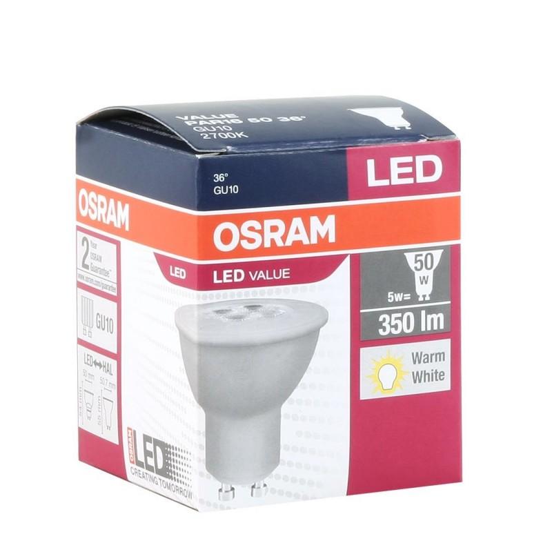 osram led value gu10 5w par1650 led lamps photopoint. Black Bedroom Furniture Sets. Home Design Ideas