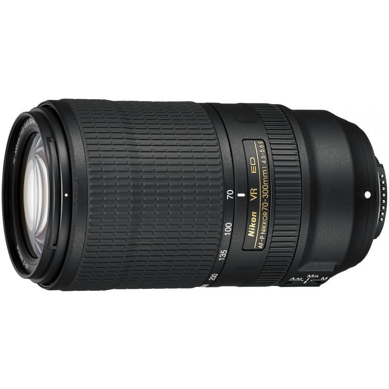 Nikon AF-P Nikkor 70-300mm f/4.5-5.6E ED VR objektiiv