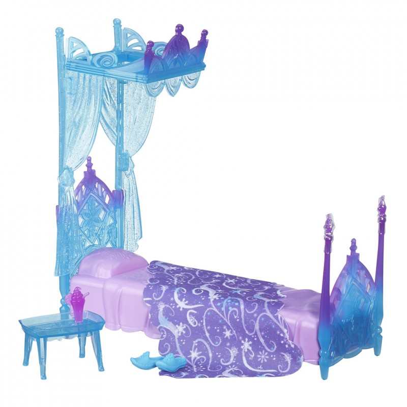 Disney Frozen canopy bed for Elsa  sc 1 st  Photopoint & Disney Frozen canopy bed for Elsa - Dolls - Photopoint