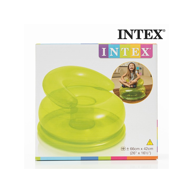 Children S Inflatable Armchair Intex Turquoise Other Toys Photopoint