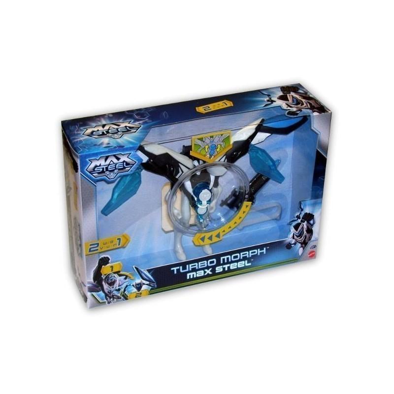 Mattel Max Steel Transformation, figurine Bhj07 - Model kits ...
