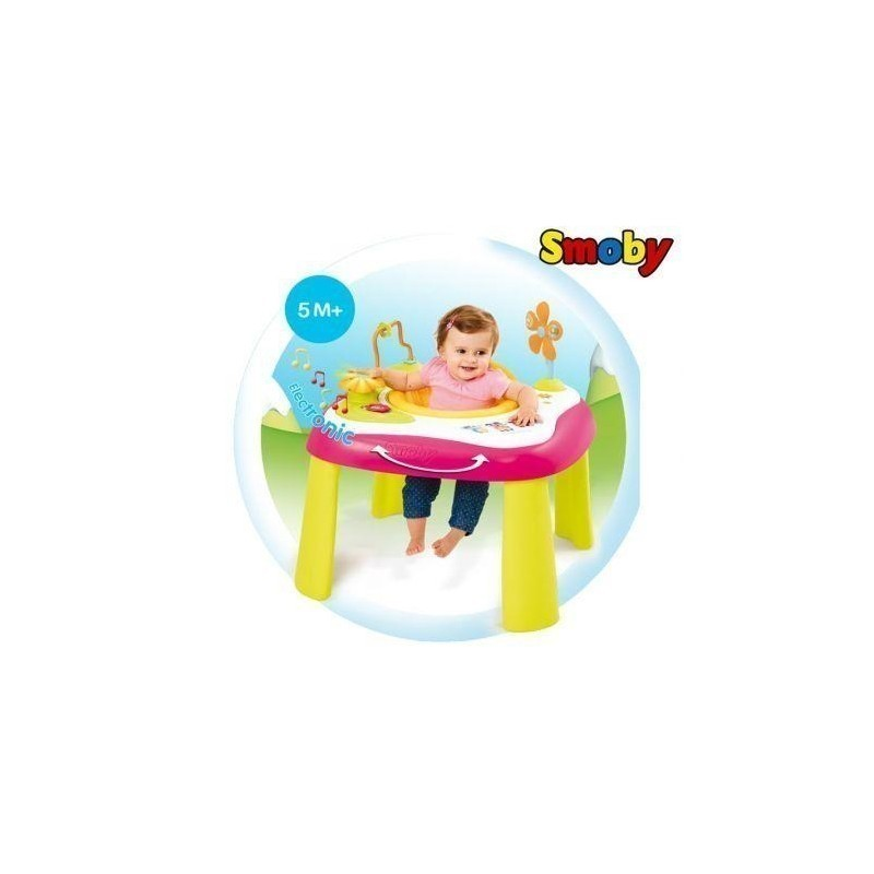 Smoby Cotoons Electronic Table Pink Interactive Toy Activity