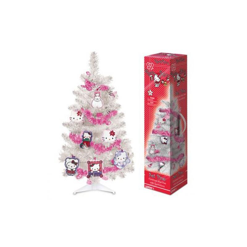 Hello Kitty Christmas Tree.Hello Kitty Christmas Tree With Decorations