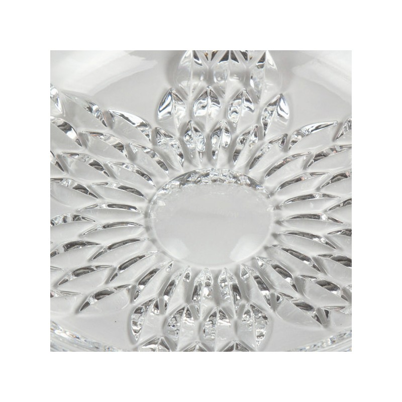 Set Of 4 Plates Mirage Pure Crystal Kitchen Collection By Bravissima