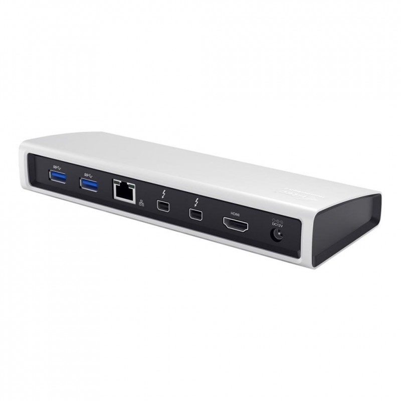 i-tec THUNDERBOLT 2 Docking Station 2xThunderbolt HDMI 4K2K Glan Audio 3x USB