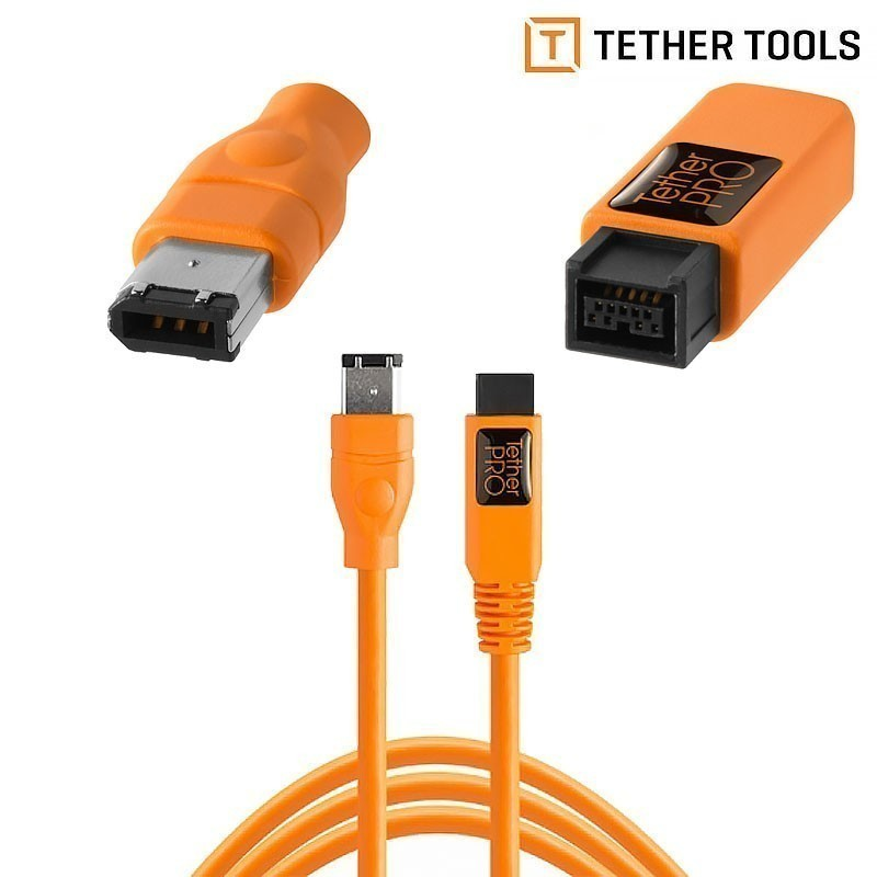 TetherPro FireWire 800/400 - 9 pin to 6 pin. 4.6 m - Cables - Photopoint