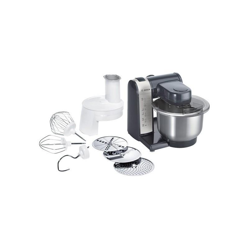 Kitchen Machine Bosch Mum48a1 Black Food Processors Photopoint