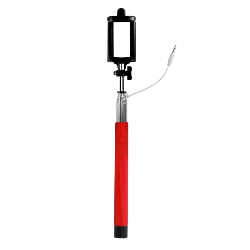art selfie stick wired ks10a art oem red handheld tripods photopoint. Black Bedroom Furniture Sets. Home Design Ideas