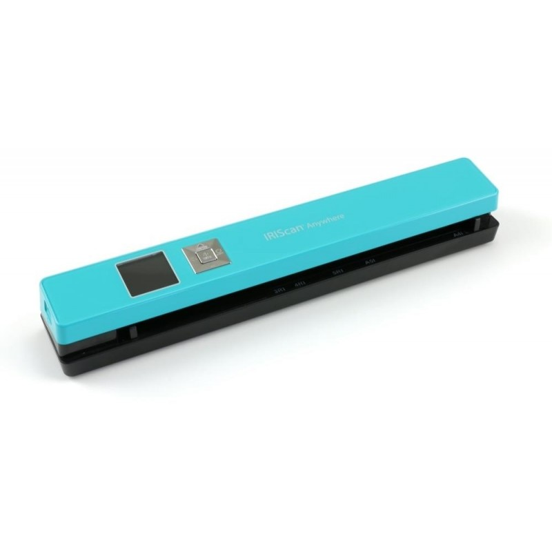 IRISCan Anywhere 5 Turquoise - 8 PPM - Battery Li-ion