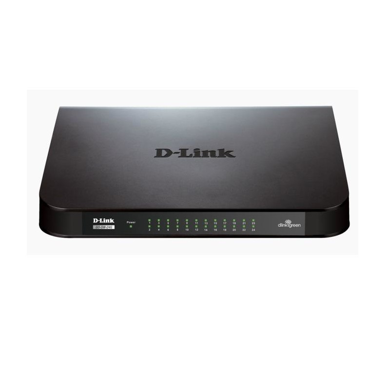D Link Switch 24 Port Gigabit Easy Desktop