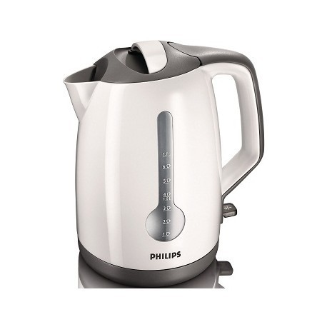 Philips kettle 1,7L HD4649/00, white/black