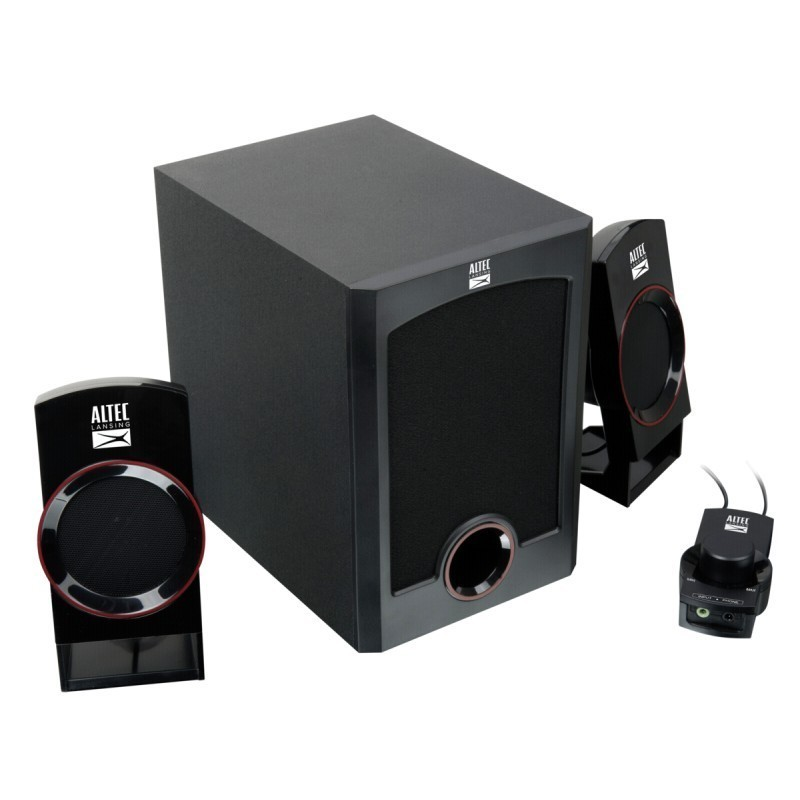 Altec Lansing speakers Circus 2 1, black