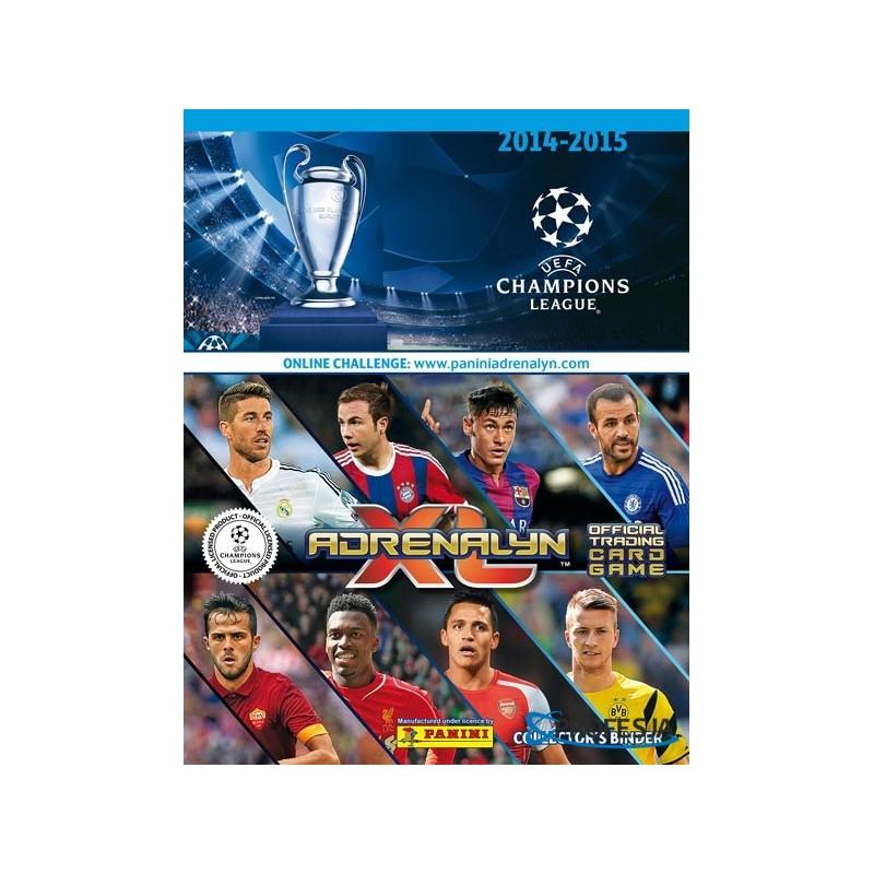 cdd5fa38f0a Panini football card album UEFA Champions League 2014-2015 ...