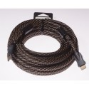 Cable HDMI-HDMI 10m LB0050 LIBOX