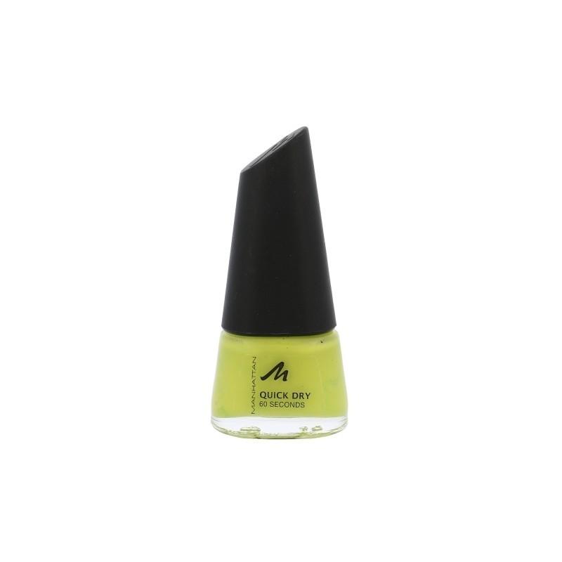 Manhattan Quick Dry 60 Seconds Nail Polish (7ml) (10X Lime Green ...