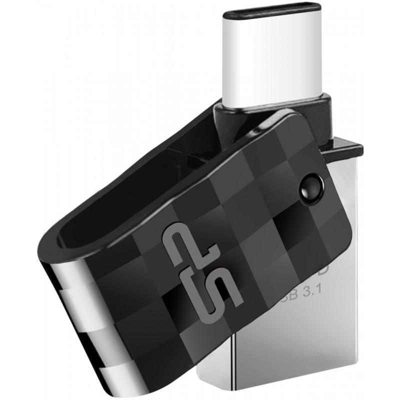 Silicon Power flash drive 16GB Mobile C31 USB-C, black
