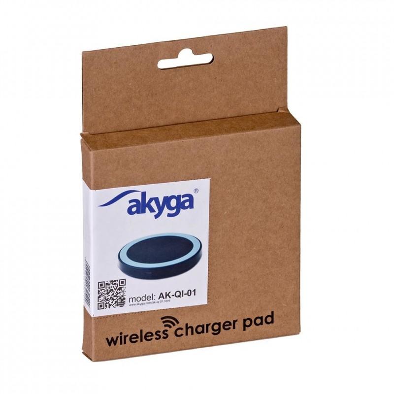 113e364321 Akyga Wireless Induction Charger QI AK-QI-01 5V max 1000mA ...