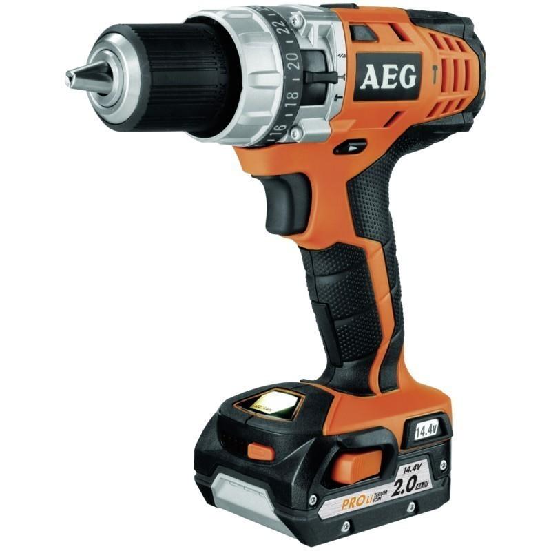 AEG BSB 14 C (2x2,0 Ah PRO Li) Cordless Compact Drill