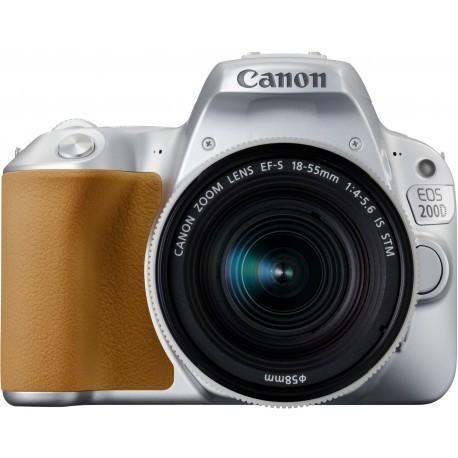 Canon EOS 200D + 18-55mm IS STM, серебристый
