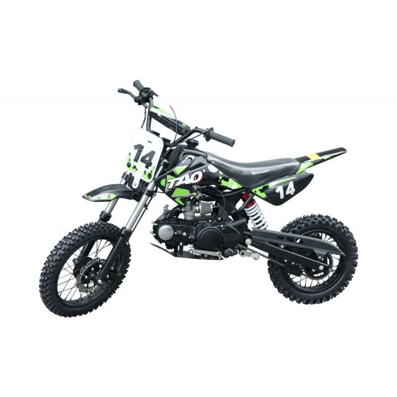 Dirt Bike DB 14 110cc roheline-must