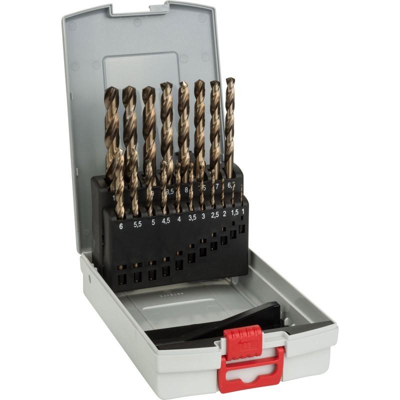 bosch metal drill bits pro box 19pcs drill bits photopoint. Black Bedroom Furniture Sets. Home Design Ideas