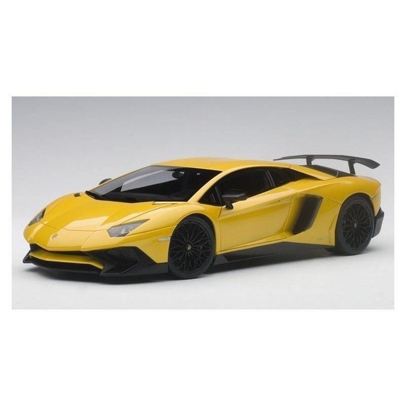 Autoart Model Car Lamborghini Aventador Lp750 4 Sv Without Sv Logo