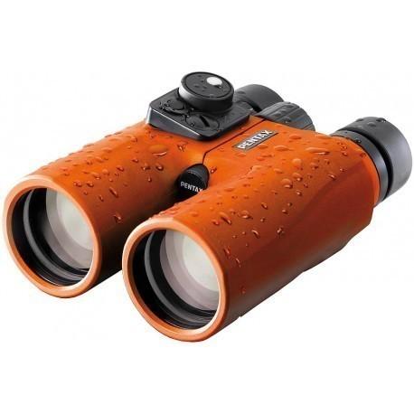 Pentax бинокль Marine 7x50, оранжевый