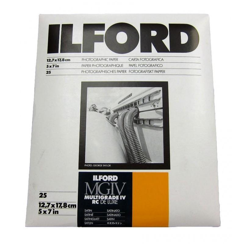 Ilford 12,7x17,8 cm MGIV 25M satiin 25 l.