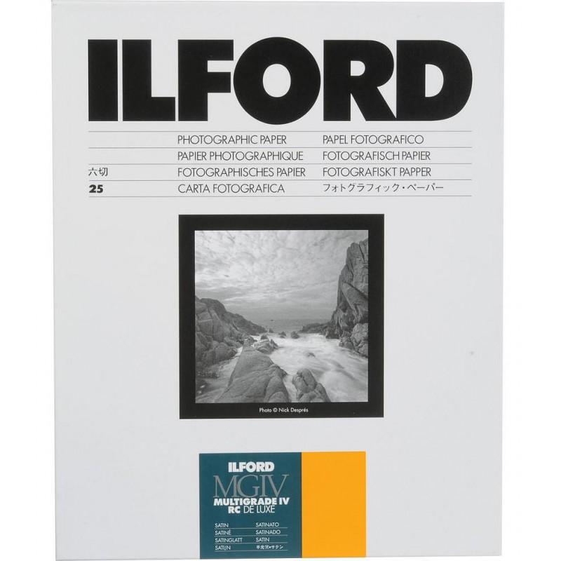 Ilford 17,8x24 cm MGIV 25M satiin 25 l.