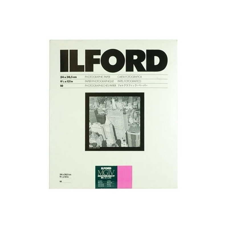 Ilford 24x30,5 cm MGIV 1M läikiv 10 l.