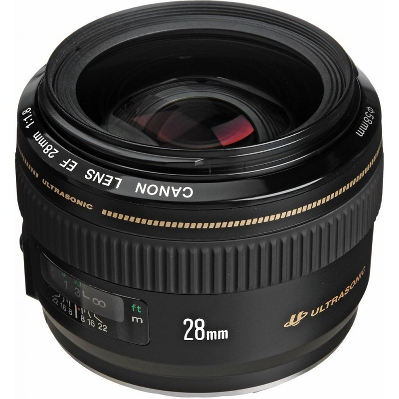 Canon EF 28mm f/1.8 USM objektiiv