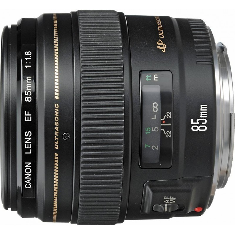 Canon EF 85mm f/1.8 USM - Lenses - Photopoint