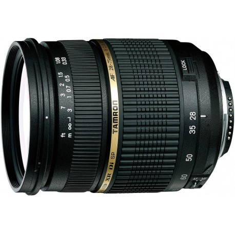 Tamron SP AF 28-75mm f/2.8 XR Di LD (IF) lens for Canon
