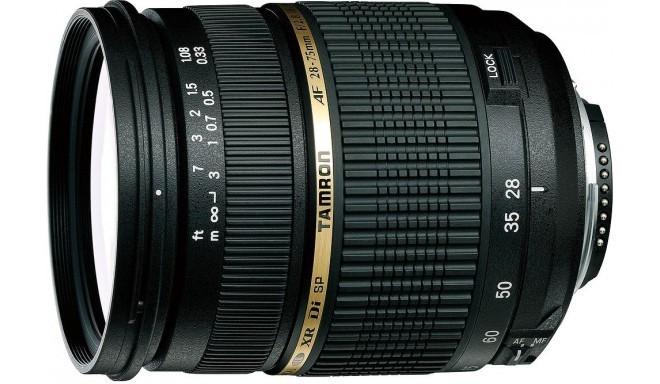 Tamron SP AF 28-75mm f/2.8 XR Di LD (IF) objektiiv Canonile