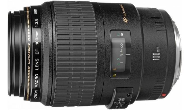 Canon EF 100мм f/2.8 USM Macro объектив