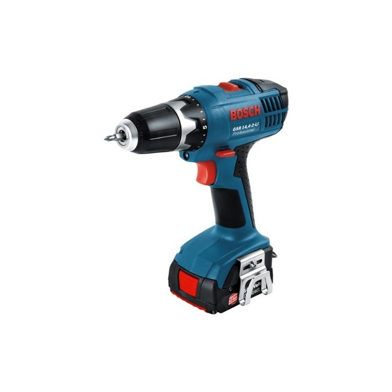 bosch cordless screw driller gsr 14 4 2 li 14 4v blue power screwdrivers photopoint. Black Bedroom Furniture Sets. Home Design Ideas