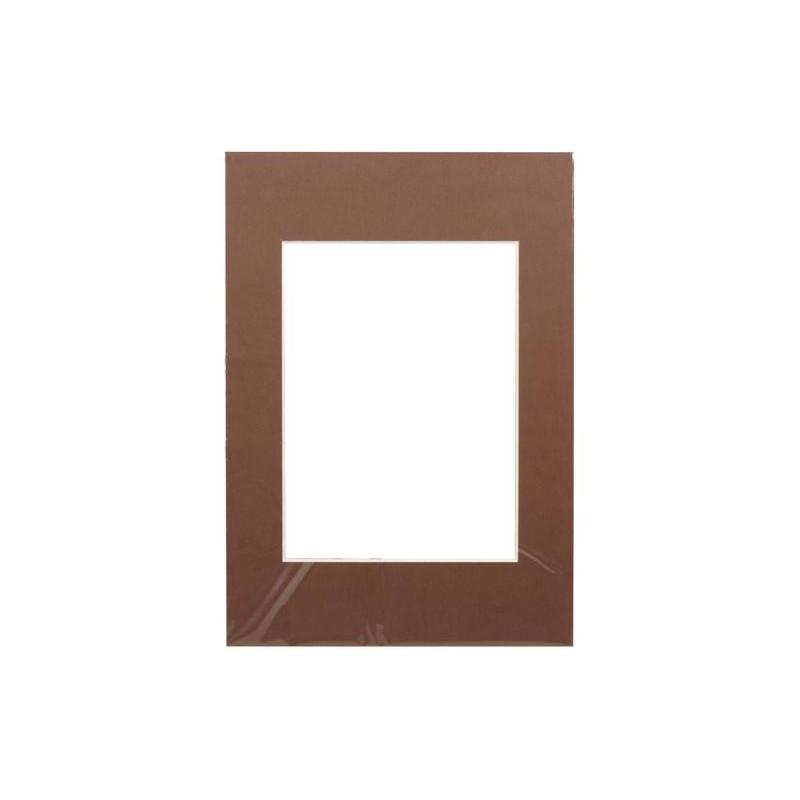 Passepartout 15×21, dark brown
