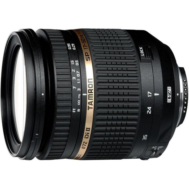 Tamron SP AF 17-50mm f/2.8 XR Di II VC LD (IF) objektiiv Nikonile