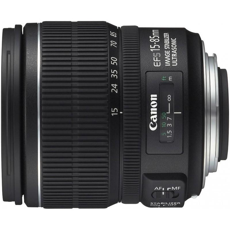 Canon EF-S 15-85мм f/3.5-5.6 IS USM объектив