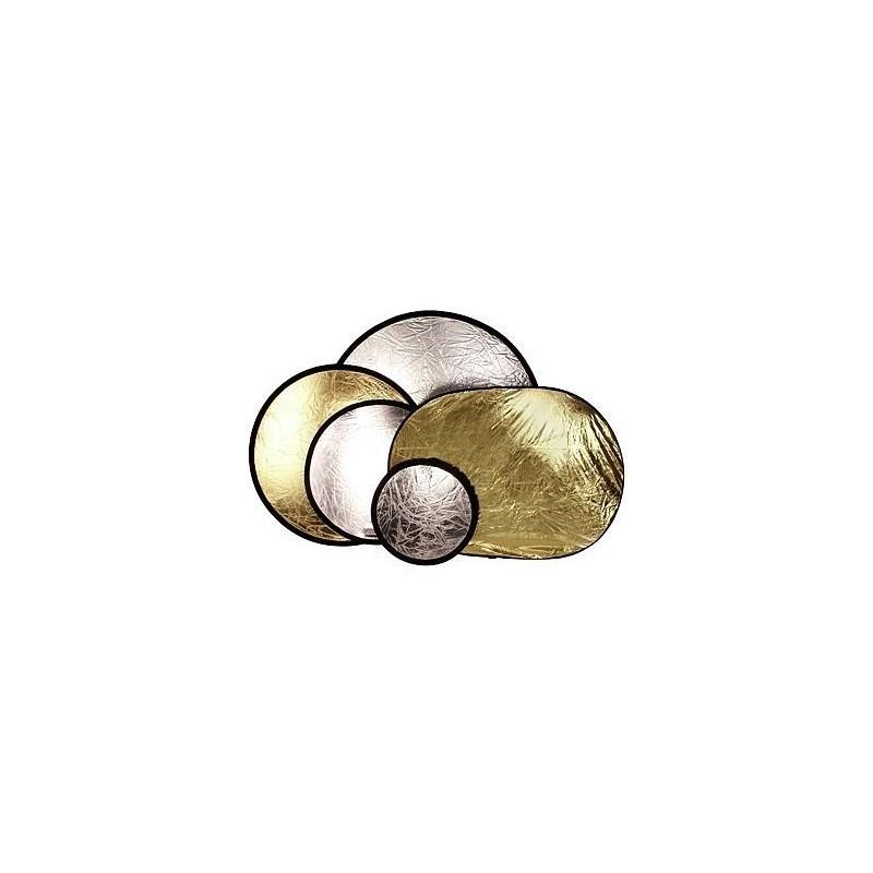 BIG Helios отражатель серебристый/золотистый 110см (428353)