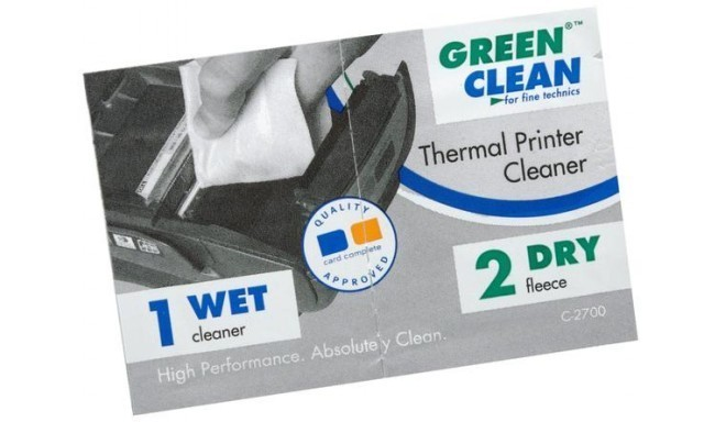Green Clean termoprinteri puhastaja C-2700