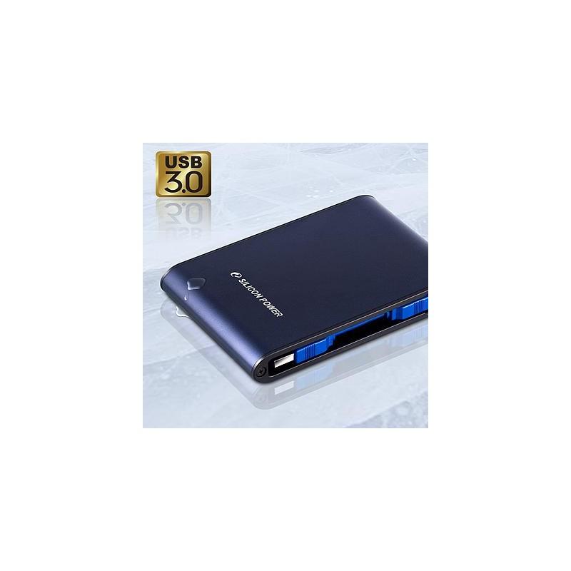 Silicon Power Armor A80 500GB, sinine