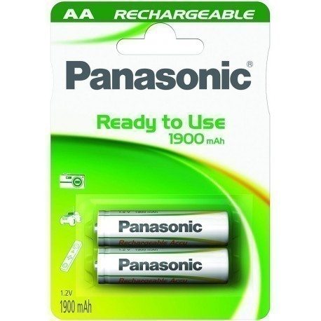 Panasonic Evolta rechargeable battery AA 1900mAh P-6E/2B