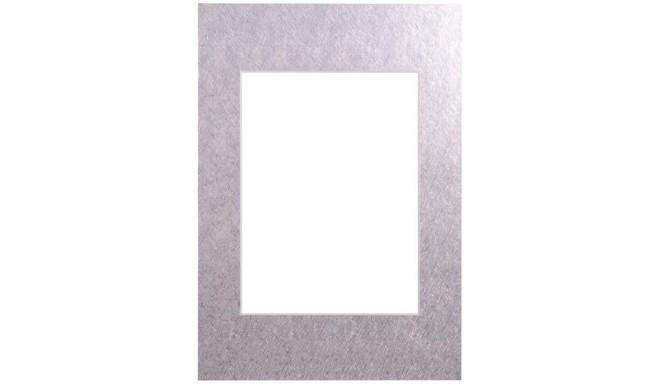 Passepartout 15x21, silver