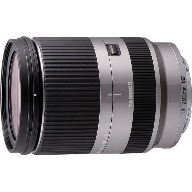 tamron 18 200mm f 3 5 6 3 di iii vc lens for sony e silver lenses photopoint. Black Bedroom Furniture Sets. Home Design Ideas